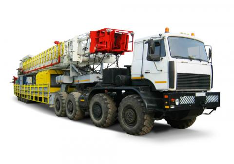 Mobile drilling rig ARS-225